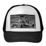 Kid Kart in Black & White Cap