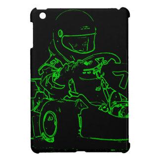 Kid Kart in Green iPad Mini Cases