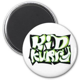 Kid Kurry T-Shirt Final 6 Cm Round Magnet