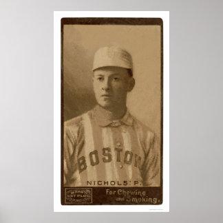 Kid Nichols Rare Baseball 1895 Poster