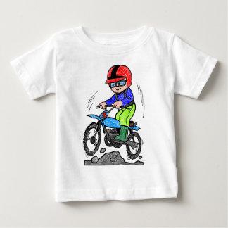 Kid on bike baby T-Shirt