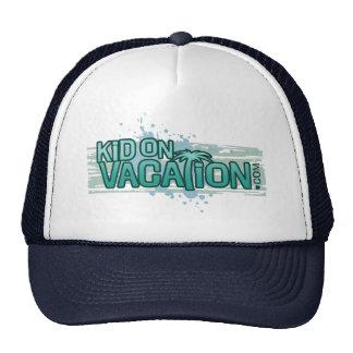 Kid On Vacation Trucker Hat