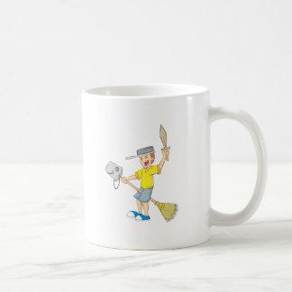 Kid Playing Mugs