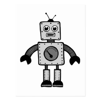 Kid Robot Postcard