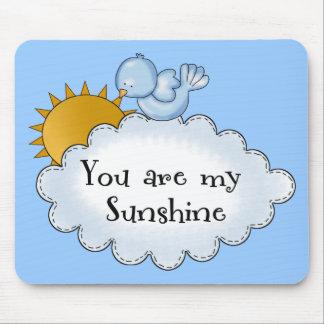 Kid s Bird Sun You Are My Sunshine Mouse Pads