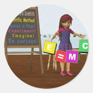 Kid Scientist Stickers