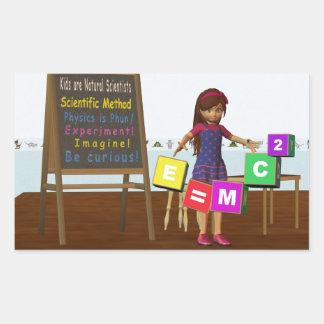Kid Scientist Sticker