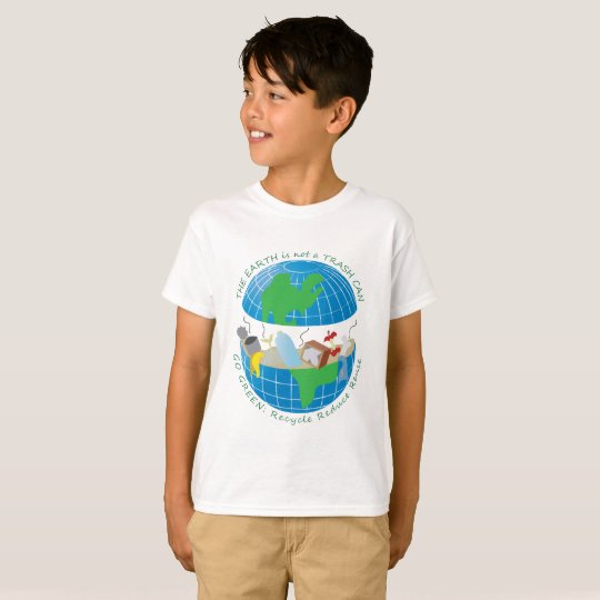 Kid sized ecologist T-Shirt