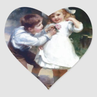 Kid Sweethearts painting Stickers