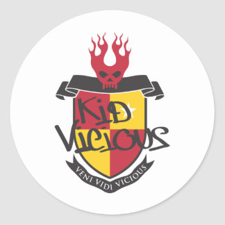 Kid Vicious Merch Rocks Classic Round Sticker