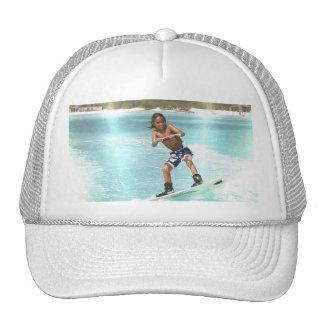 Kid Wakeboarding Baseball Hat