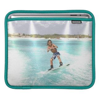 Kid Wakeboarding iPad Sleeve