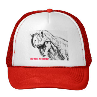 Kid With Attitude - Dinosaur Trucker Hat