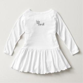 Kid, You'll Move Mountains Girls White Dress