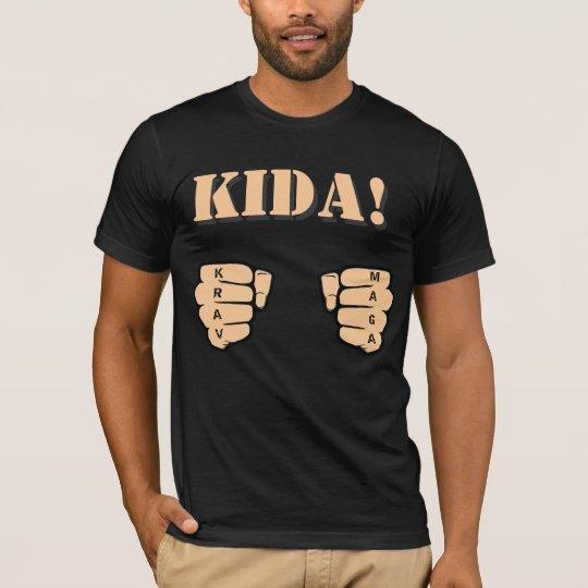 KIDA! t-shirt with fists