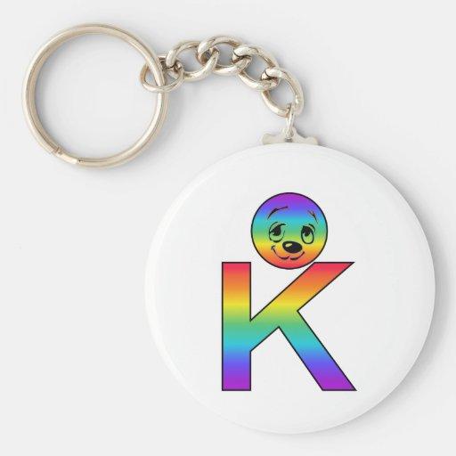 Kidbet Letter K Keychains