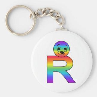 Kidbet Letter R Keychains
