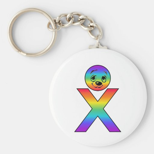 Kidbet Letter X Keychains