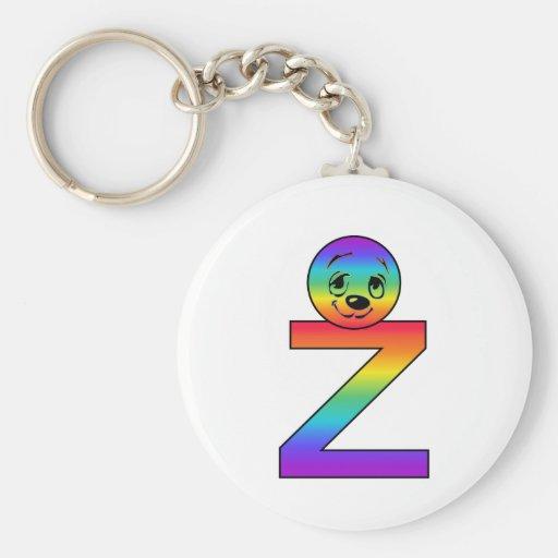 Kidbet Letter Z Key Chains