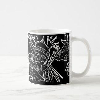 kidchina collection classic white coffee mug