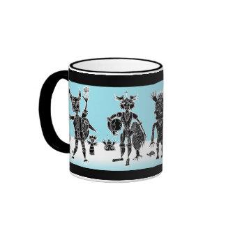 kidchina dance ringer mug