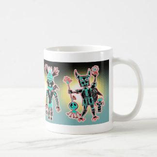 KIDchina java! Basic White Mug