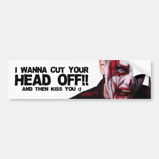 KidCrusher - Bumper Sticker - HEAD
