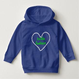 kiddies blue hoodie with logo