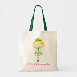 KIDLETS irish dancer blonde Canvas Bag