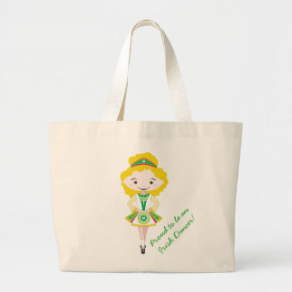 KIDLETS irish dancer dancing blonde shoe bag