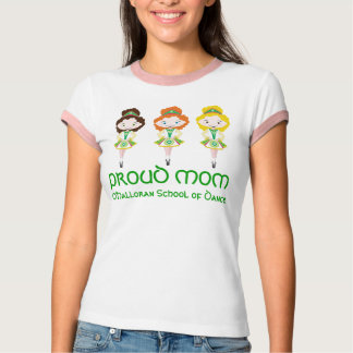 KIDLETS irish dancer dancing school proud mom T-Shirt