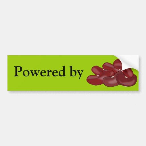 Kidney Beans Bean Lover Vegetarian Vegan Bumper Stickers
