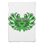 Kidney Cancer Awareness Heart Wings.png iPad Mini Case