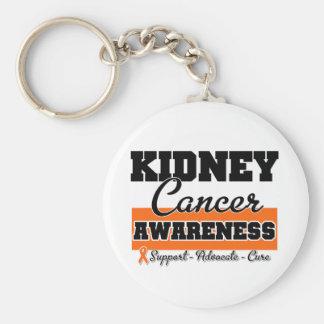 Kidney Cancer Awareness (Orange) Keychains