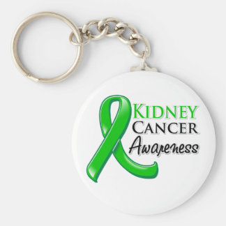 Kidney Cancer Awareness Ribbon Keychain