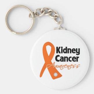Kidney Cancer Awareness Ribbon Key Chains