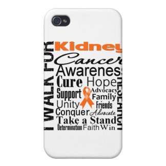 Kidney Cancer Awareness Walk 2 iPhone 4 Case