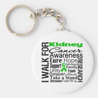 Kidney Cancer Awareness Walk Key Chain