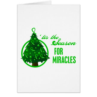 Kidney Cancer Christmas Miracles Card