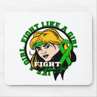 Kidney Cancer Fight Like A Girl Attitude Mouse Pad