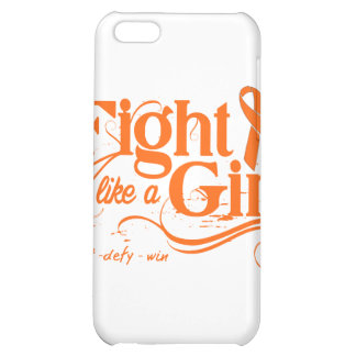 Kidney Cancer Fight Like A Girl Elegant 2 iPhone 5C Cover