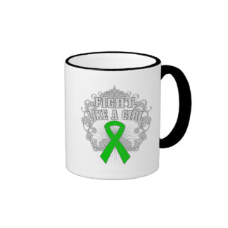 Kidney Cancer Fight Like A Girl Fleurish Mugs