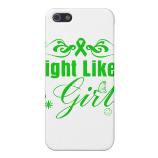 Kidney Cancer Fight Like A Girl Ornate iPhone 5 Cases