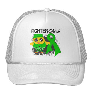 Kidney Cancer Fighter Chick Grunge Hats