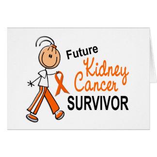 Kidney Cancer Future Survivor SFT Greeting Card