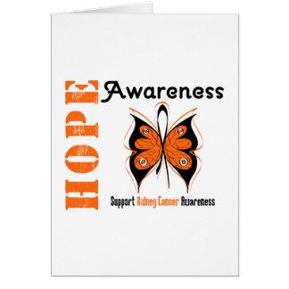 Kidney Cancer Hope Awareness Greeting Cards