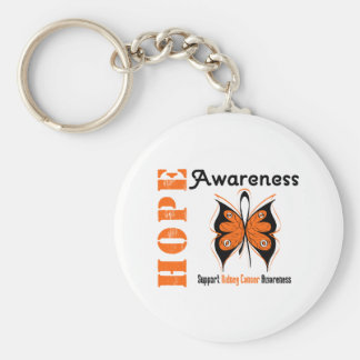 Kidney Cancer Hope Awareness Keychain