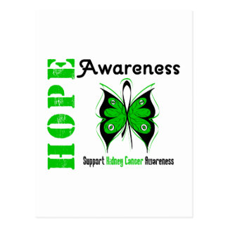 Kidney Cancer Hope Awareness Postcard