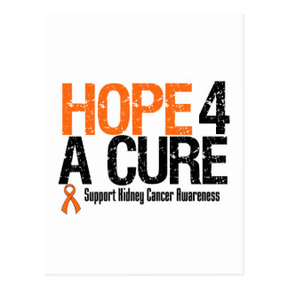 Kidney Cancer HOPE FOR A CURE Postcard