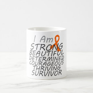 Kidney Cancer  I Am Strong Survivor Basic White Mug
